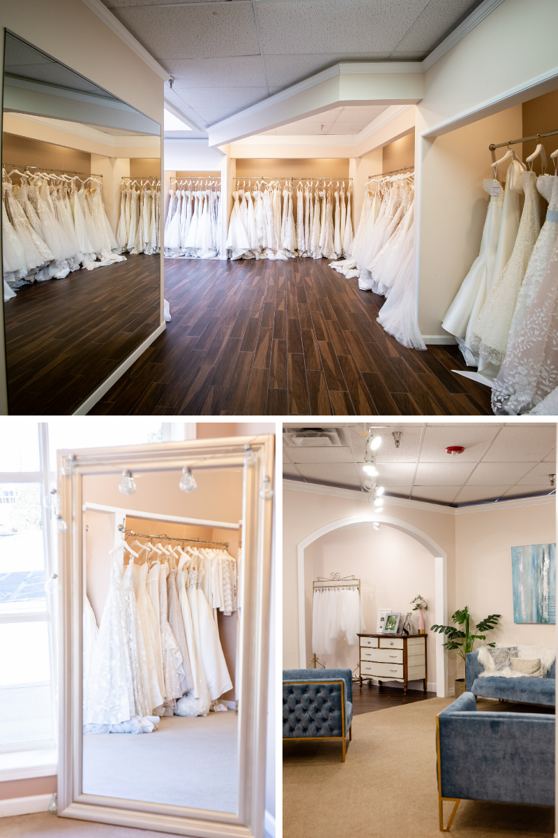 The Bridal Collection store in Centennial CO near Denver sell amazing dresses for wedding